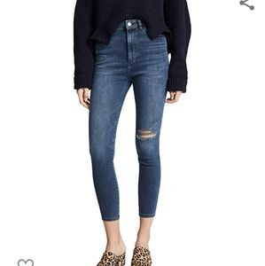 DL1961 chrissy ultra high rise skinny jeans size28